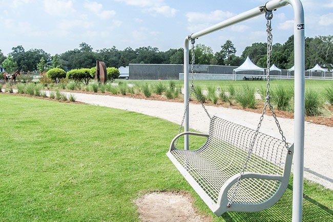 Riverfront Park Swing