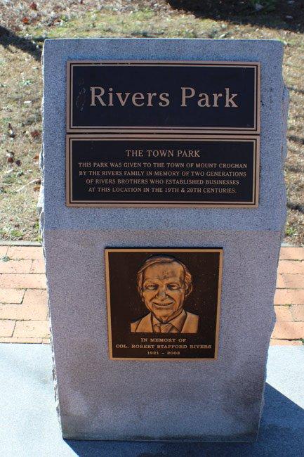 Rivers Park Marker