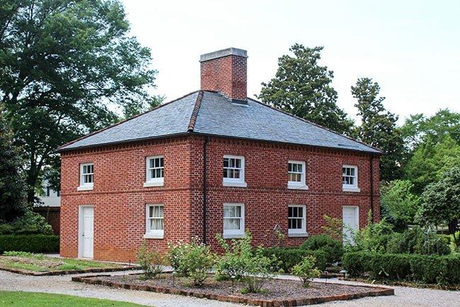 Robert Mills House flanker