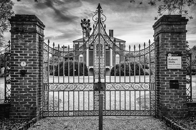 Robert Mills House Gate