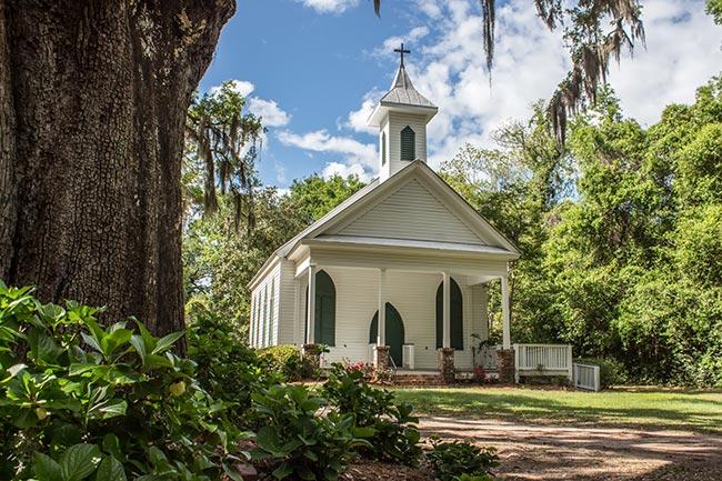Grace Episcopal Chapel - Rockville, South Carolina