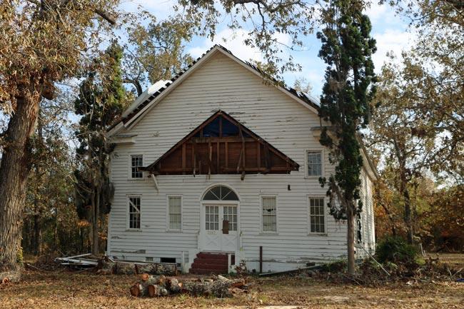 Rocky Swamp Church Disrepair