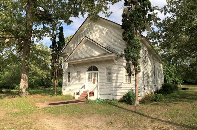 Rocky Swamp Church Side