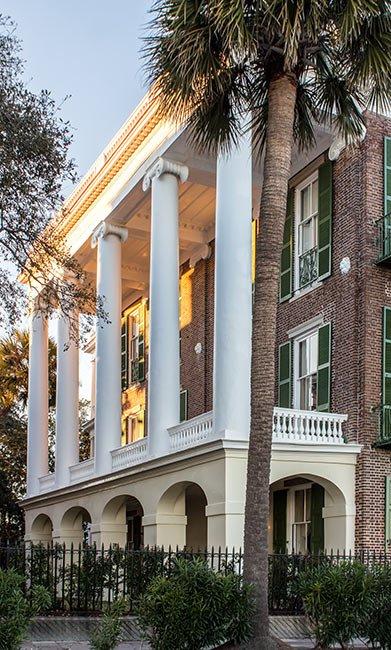 Roper House Columns, Charleston