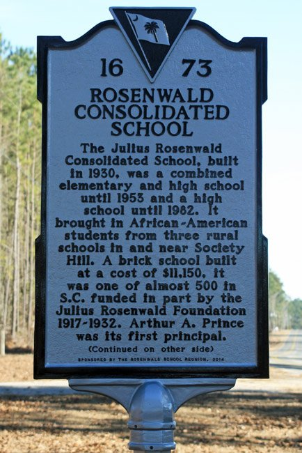 Rosenwald Consolidated Marker