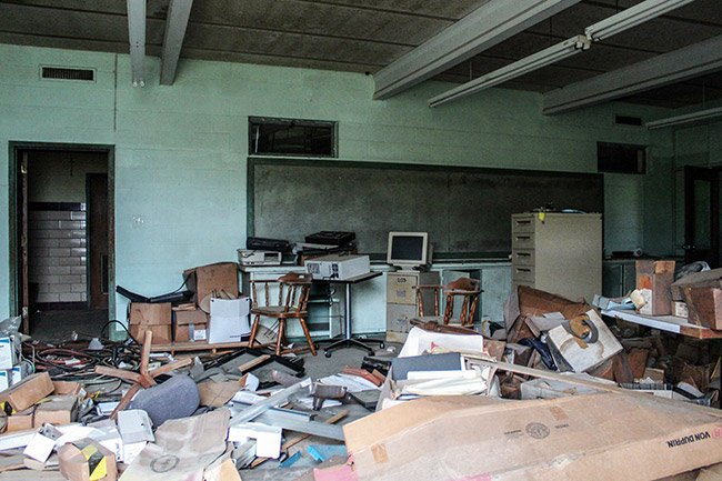 Rosenwald High School Computer Room