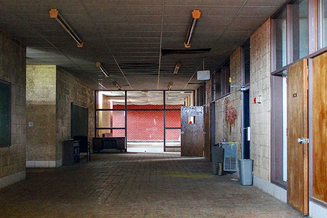 Rosenwald High School Hallway
