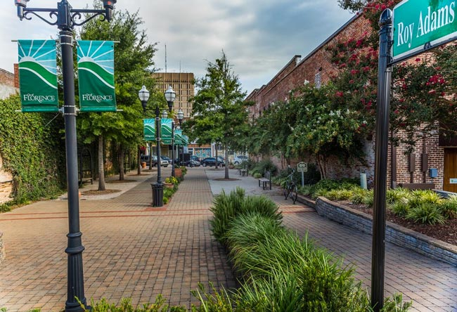 Roy Adams Breezeway - Florence, South Carolina