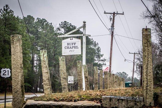 Ruff Chapel Sign