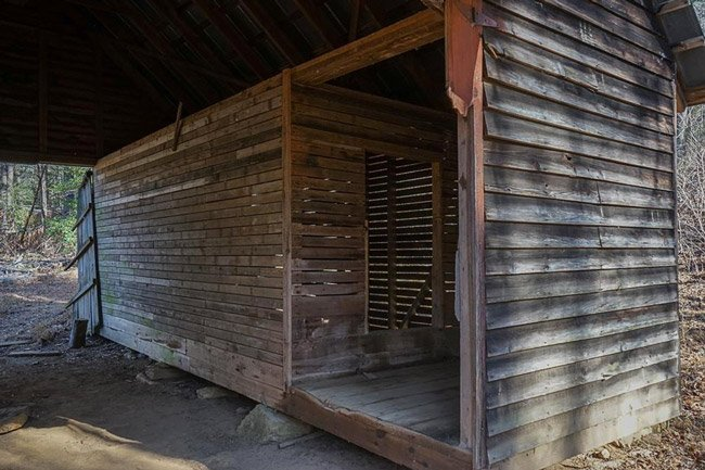 Russell Farmstead Corncrib Interior