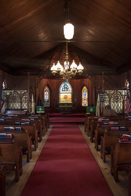Saint James Santee Interior