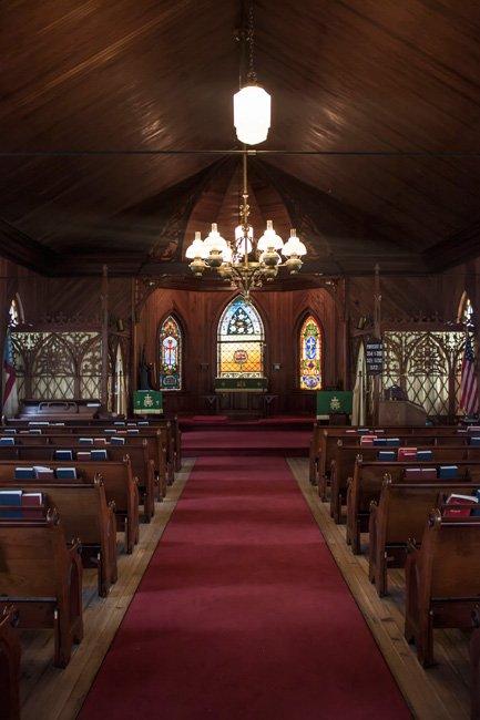 Saint James Santee Interior