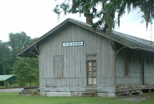 Salters Train Depot