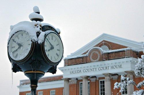 Saluda Town Clock