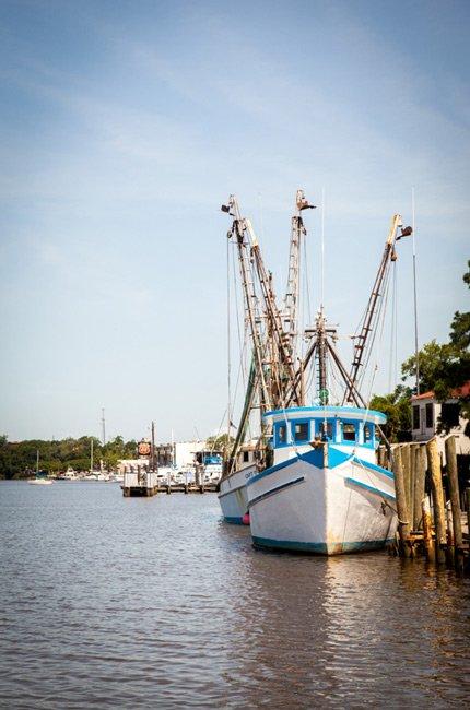 Sampit River Shrimpboat