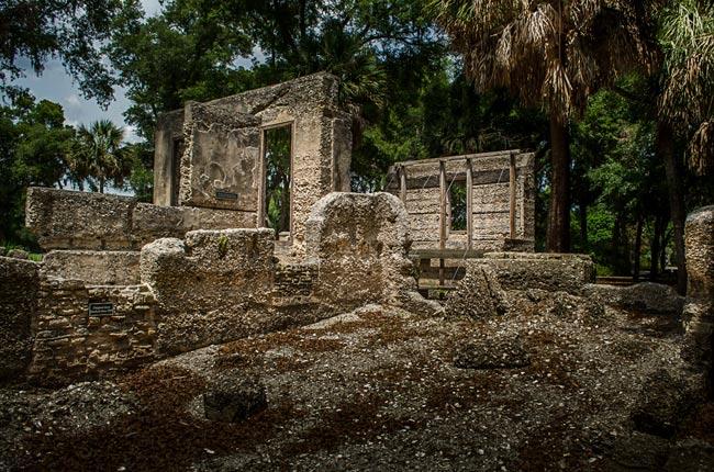 Sams House Tabby Ruins