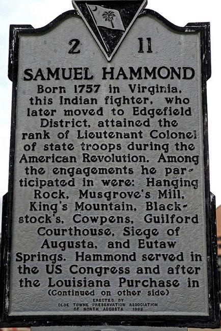 Samuel Hammond Marker
