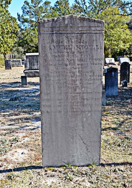 Samuel McGill Grave