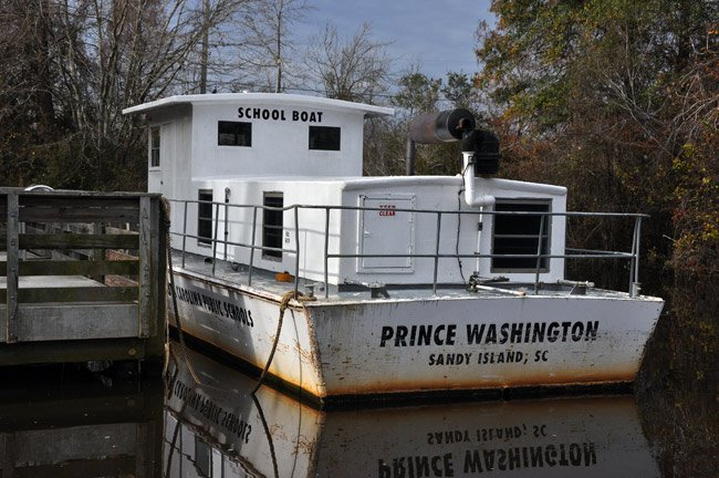Sandy Island School Boat
