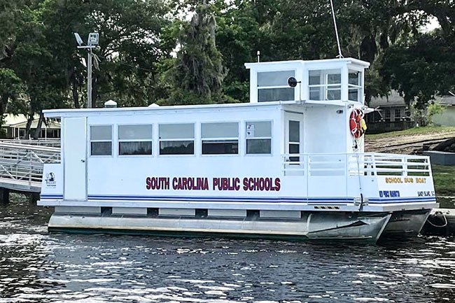 Sandy Island School Boat