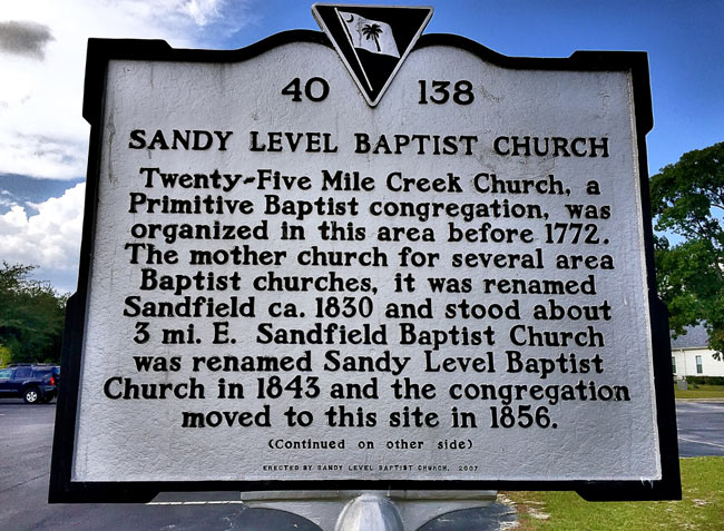 Sandy Level Marker