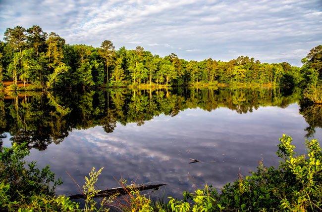 Santee State Park Lake