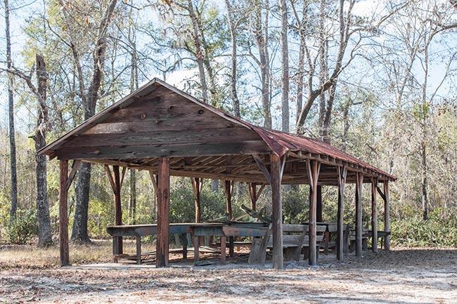 Sardis Methodist Church Tabernacle Shelter
