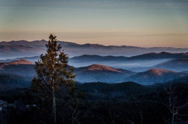 Sassafras Mountain Sunrise