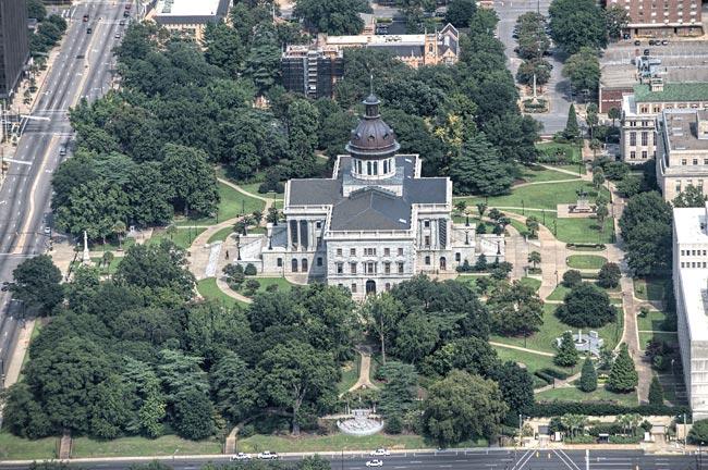 SC Capitol Aerial