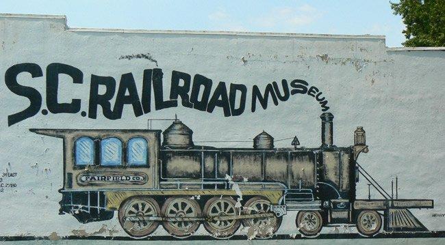 SC Railroad Museum Mural