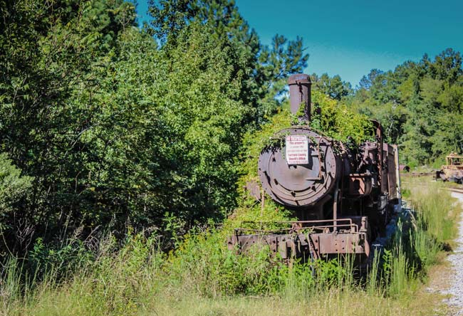 SC Railroad Museum Rusted Engine