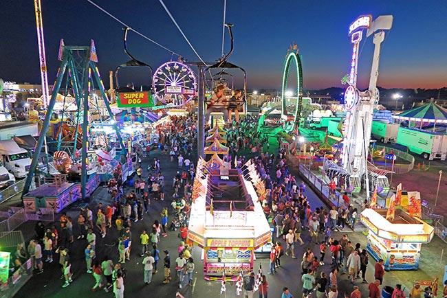 SC State Fair Aerial