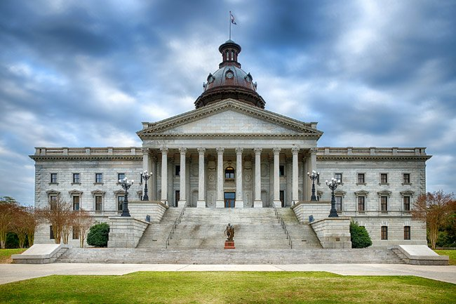 SC State House Blue Granite