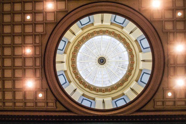 SC State House Dome Interior