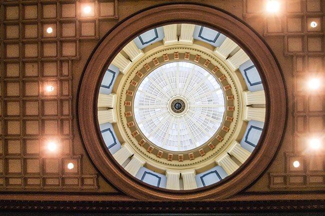 SC State House Dome Interior
