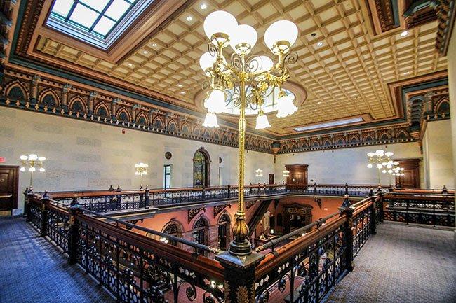 SC State House Upstairs Interior