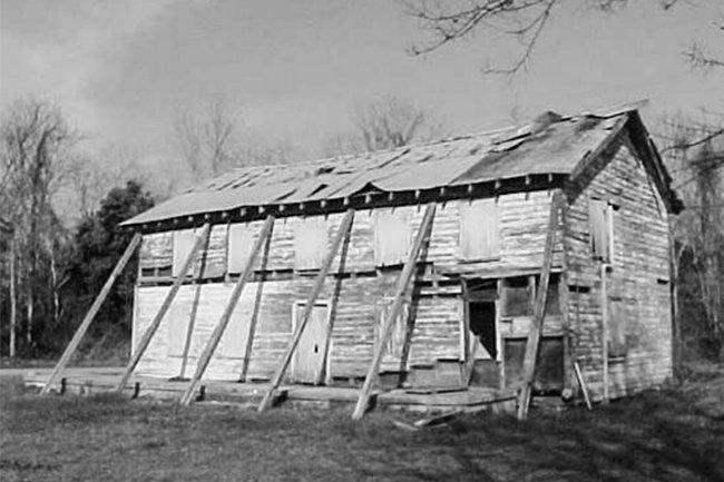 Seashore Farmer's Lodge in Disrepair
