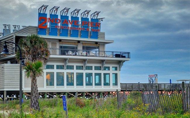 Second Avenue Pier Myrtle Beach South Carolina