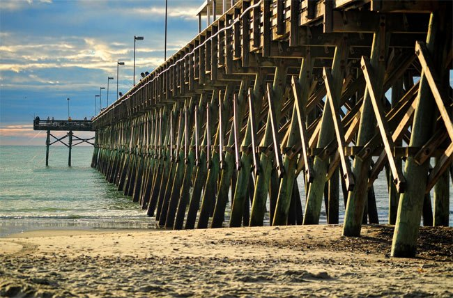 2nd avenue pier myrtle beach south carolina sc for Sc fishing license cost