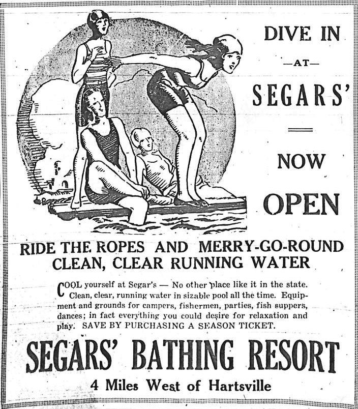 Segars Bathing Resort in Hartsville SC