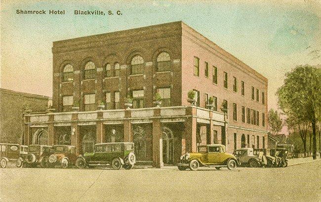 Shamrock Hotel, 1916