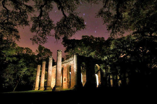 Sheldon Church at Night
