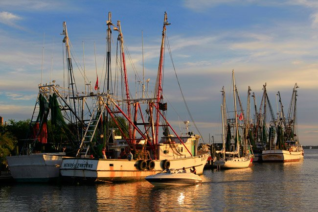 Shem Creek Day's End