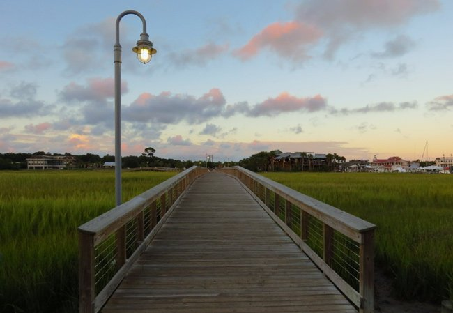 Shem Creek Park Boardwalk