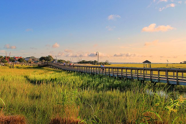 Shem Creek Park Boardwalk, Mt. Pleasant