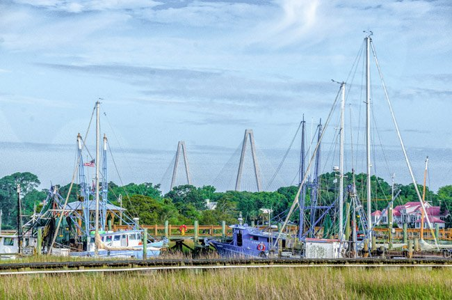 Shem Creek Ravenel Bridge