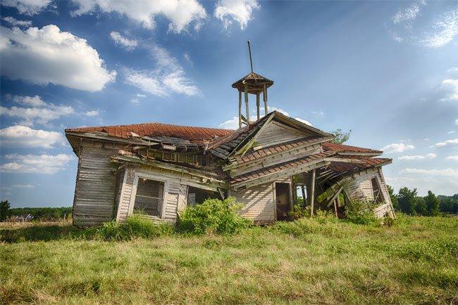 Shiloh Schoolhouse by Vanessa Kauffmann