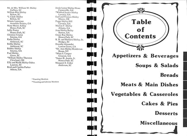 Shirley Creations Cookbook