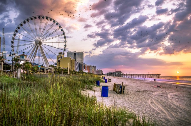 SkyWheel Beach