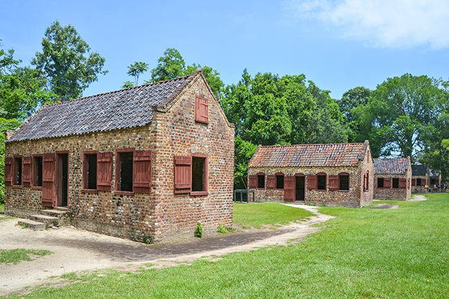 Slave Cabins Street, Boone Hall